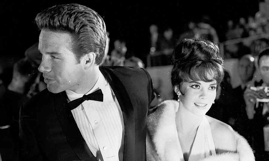 <p>Warren Beatty & Natalie Wood</p>