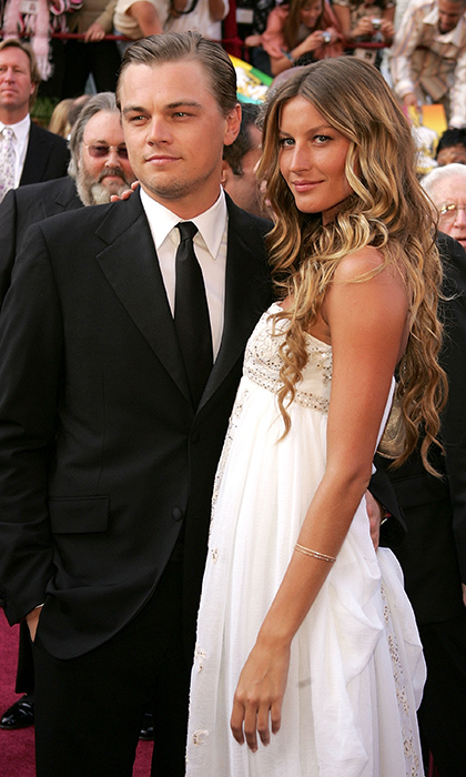 <p>Leonardo Dicaprio & Gisele Bundchen</p>