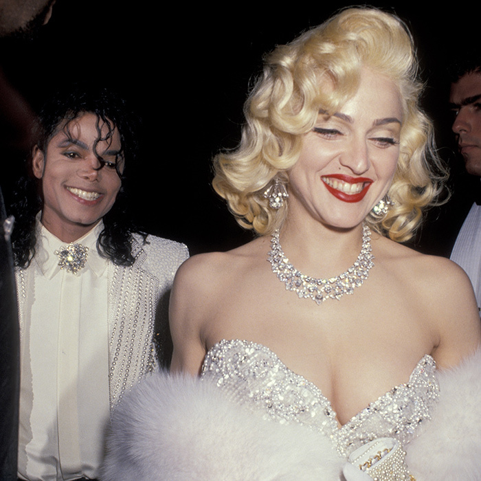 <p>Michael Jackson &amp; Madonna</p>