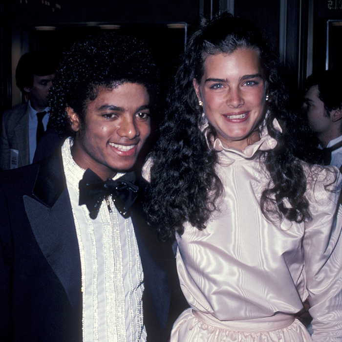<p>Michael Jackson &amp; Brooke Shields</p>