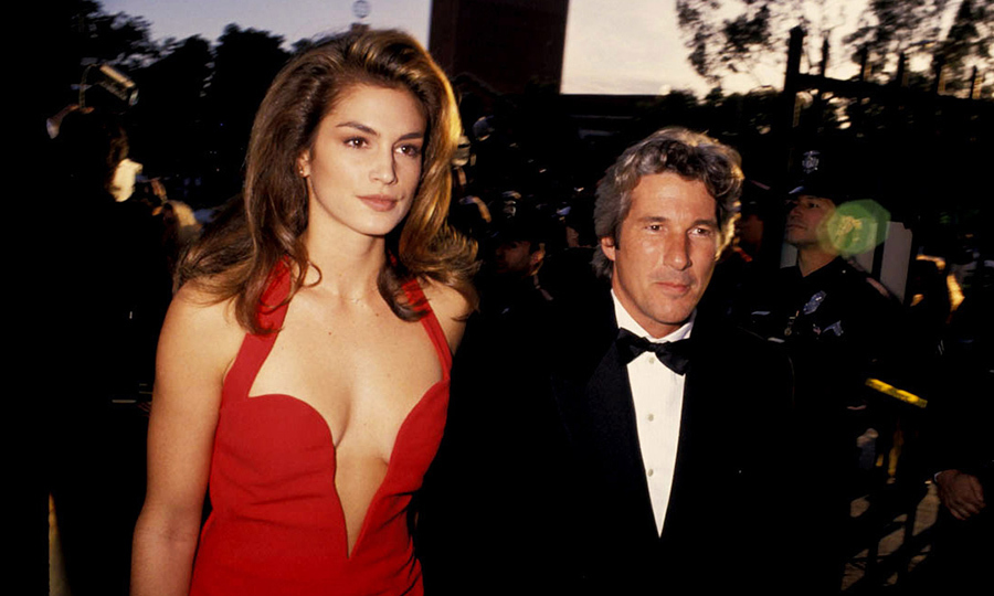 <p>Cindy Crawford & Richard Gere</p>