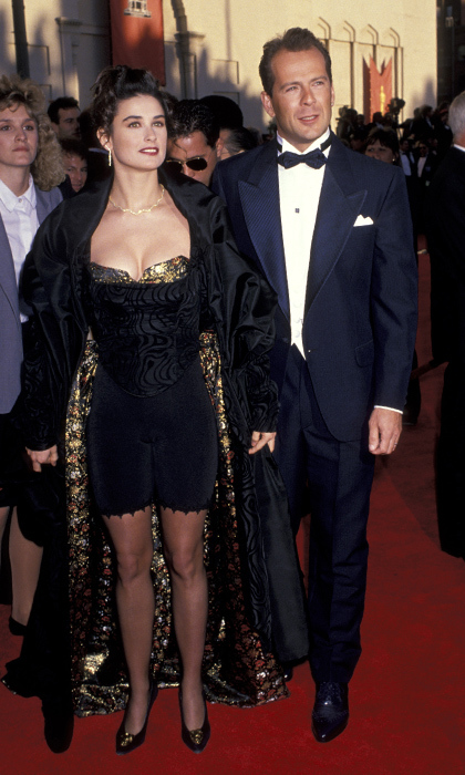 <p>Demi Moore & Bruce Willis</p>