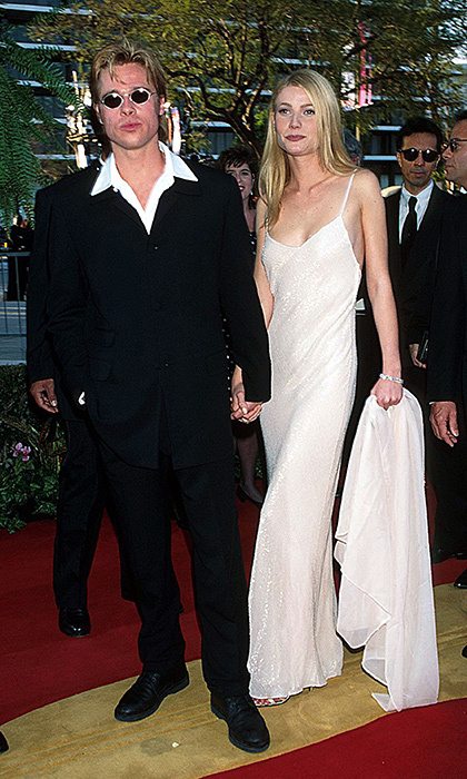 <p>Brad Pitt & Gwyneth Paltrow</p>