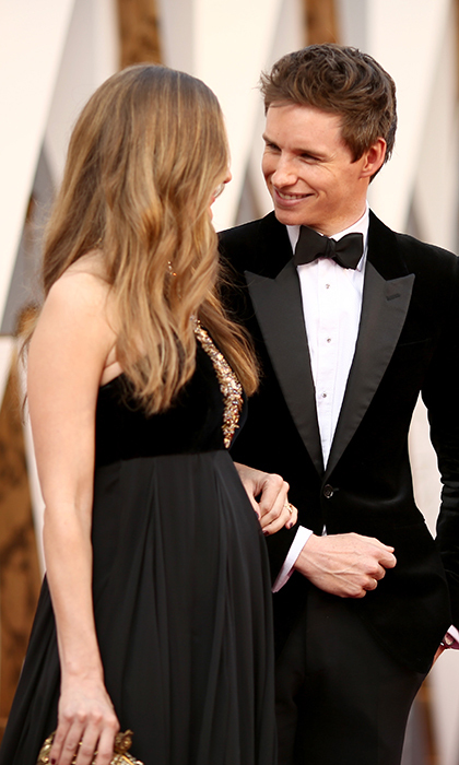 <p>Hannah & Eddie Redmayne</p>