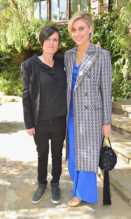<p>Cinematographer Rachel Morrison and Greta Gerwig - who are both up for major awards this year - chatted together at the luncheon. Rachel, who worked on <i>Mudbound</i> and <i>Black Panther</i>, is the first woman ever to be nominated in the cinematography category, while Greta is nominated for best director and best original screenplay for <i>Lady Bird</i>.