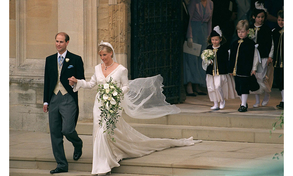<h2>Prince Edward and Sophie Rhys-Jones, 1999</h2>