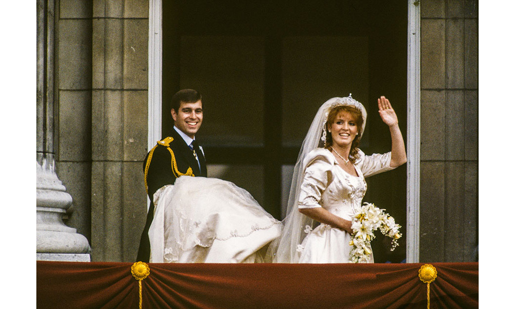 <h2>Prince Andrew and Sarah Ferguson, 1986</h2>
