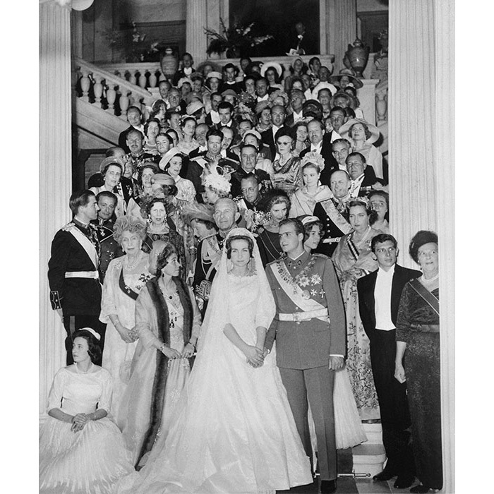 <h2>King Juan Carlos and Sophia of Greece and Denmark, 1962</h2>