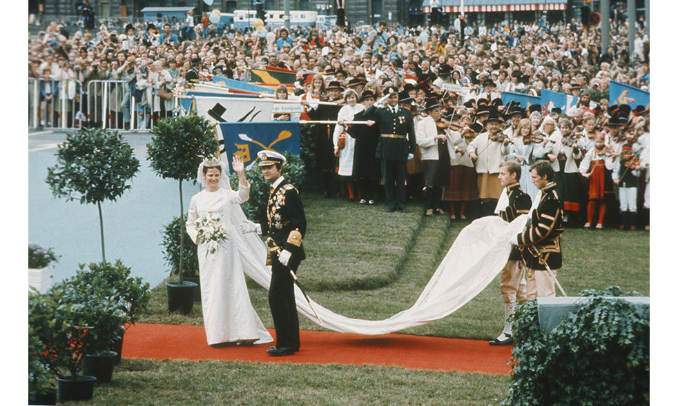 <h2>King Carl XVI Gustaf and Silvia Renate Sommerlath, 1976</h2>