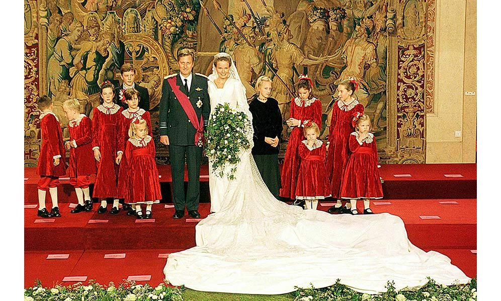 <h2>Philippe, Duke of Brabant, and Mathilde d'Udekem d'Acoz, 1999</h2>