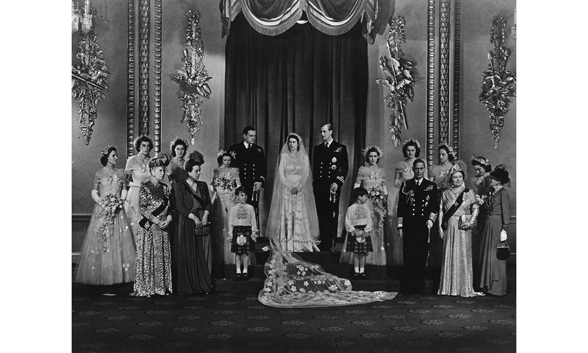 <h2>Princess Elizabeth and Philip Mountbatten, 1947</h2>