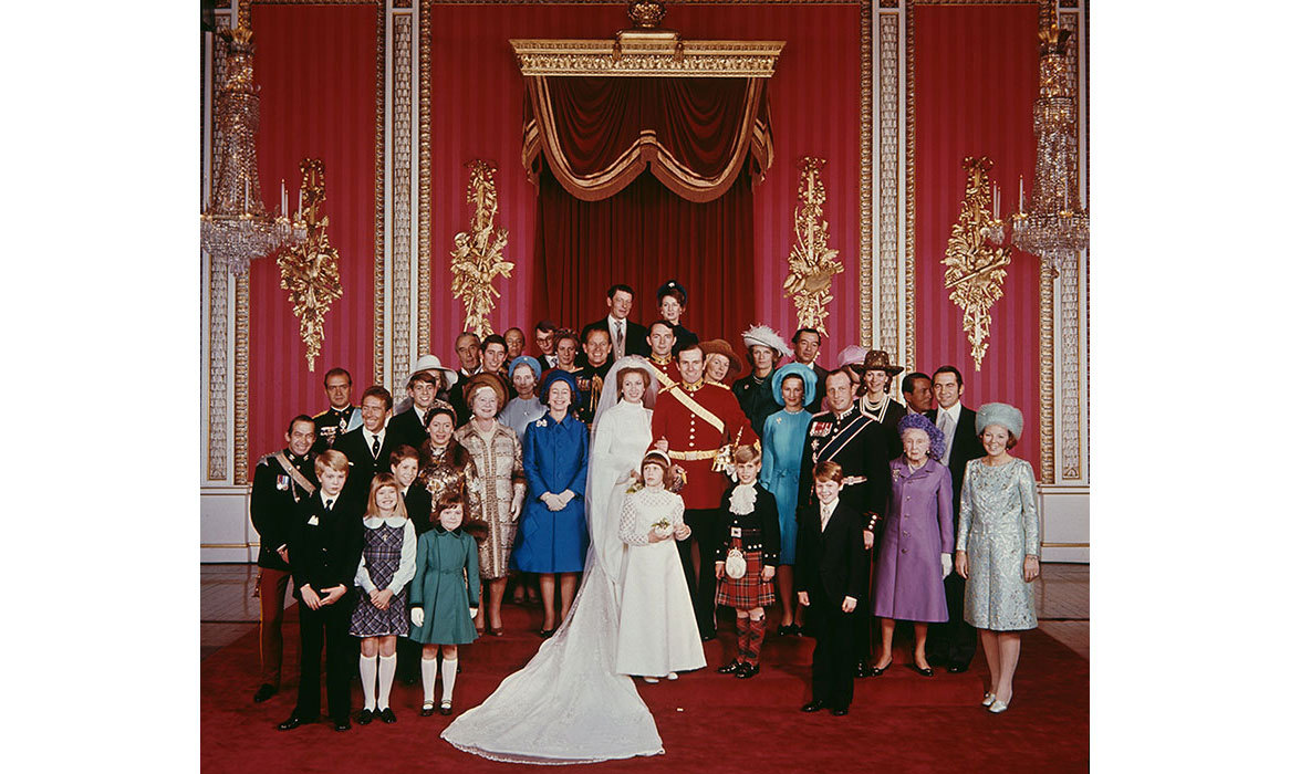 <h2>Princess Anne and Mark Phillips, 1973</h2>