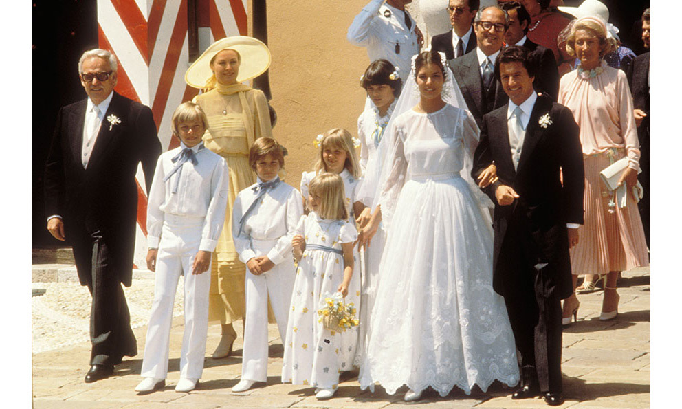<h2>Princess Caroline and Philippe Junot, 1978</h2>