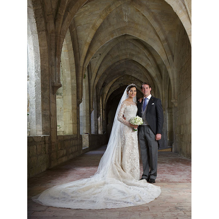 <h2>Prince Félix and Claire Lademacher, 2013</h2>