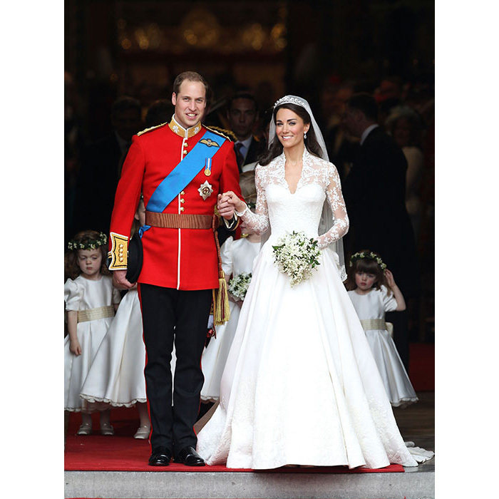 <h2>Prince William and Kate Middleton, 2011</h2>