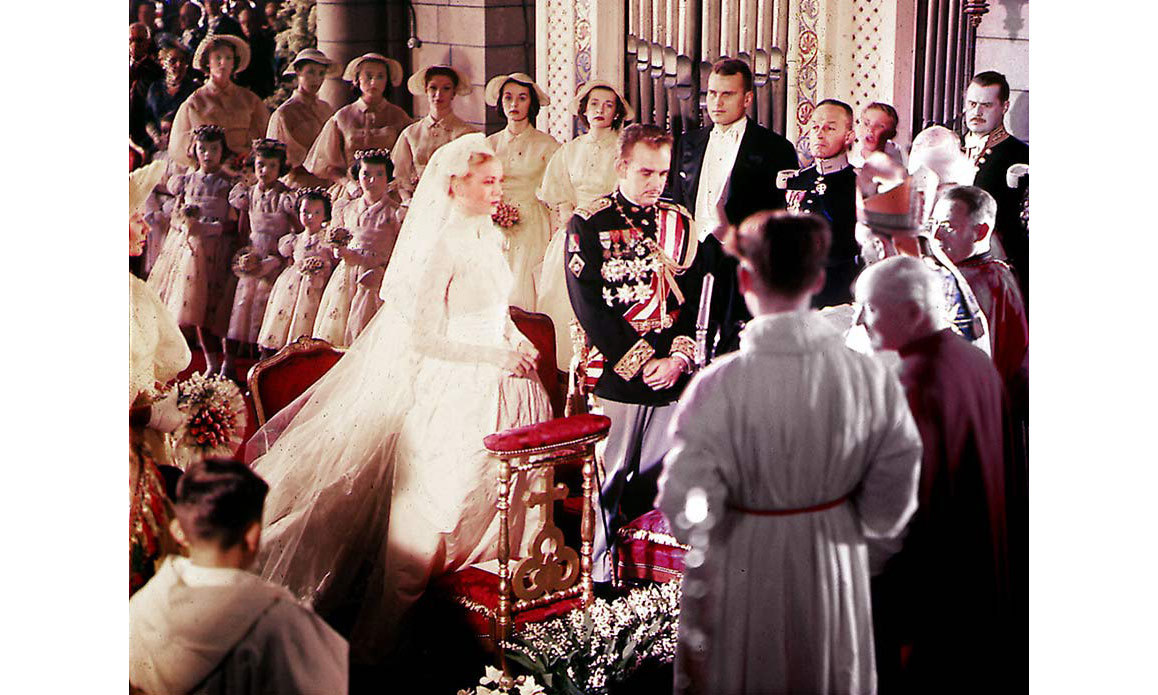 <h2>Prince Rainier and Grace Kelly, 1956</h2>