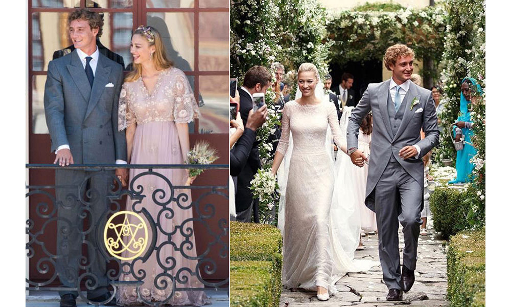 <h2>Pierre Casiraghi and Beatrice Borromeo, 2015</h2>