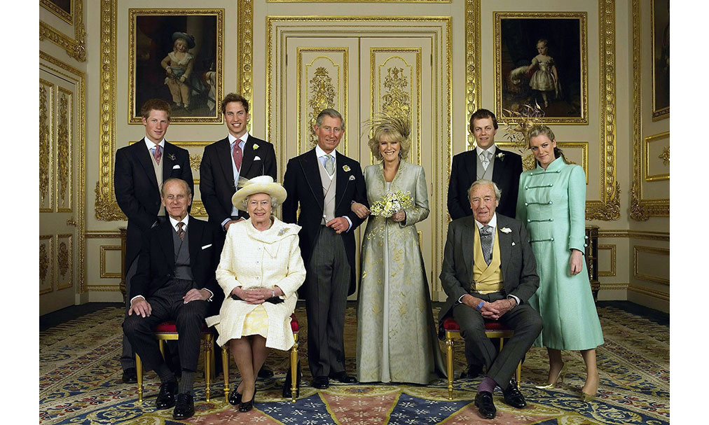 <h2>Prince Charles and Camilla Parker Bowles, 2005</h2>