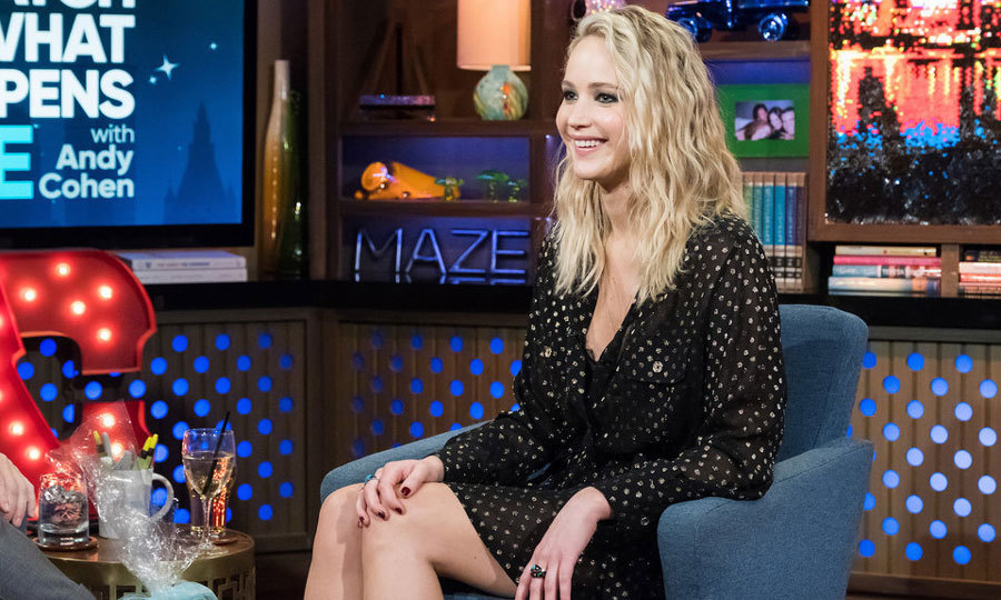 Jennifer Lawrence didn't hold back during her visit to <i>Watch What Happens Live</i>, which was pre-taped but aired on Thursday, March 1. The candid star addressed everything from Brad Pitt dating rumors to her favorite Kardashian family member. 