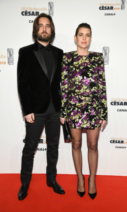 "Charlotte Casiraghi and Dimitri Rassam have brought their relationship to the red carpet. The rarely seen pair lit up the city of love on Friday, March 2, as they attended the 43rd annual César Awards in Paris. Princess Caroline's 31-year-old daughter didn't miss the opportunity to support her 36-year-old boyfriend at the star-studded gala, where talent like Penélope Cruz were honored. Dimitri produced the film Le Brio, which was nominated for ""Best Film"" and took home the ""Best New Actress"" award for French star Camélia Jordana during the ceremony.