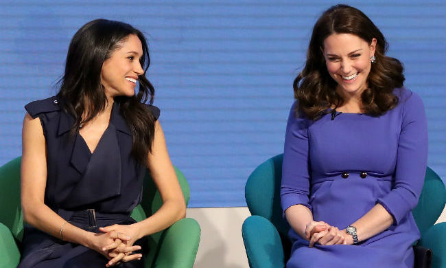 Meghan and her future sister-in-law Kate seem to be becoming fast friends. 