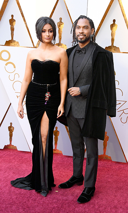 <p>Nazanin Mandi &amp; Miguel</p>