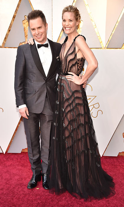 <p>Sam Rockwell &amp; Leslie Bibb</p>