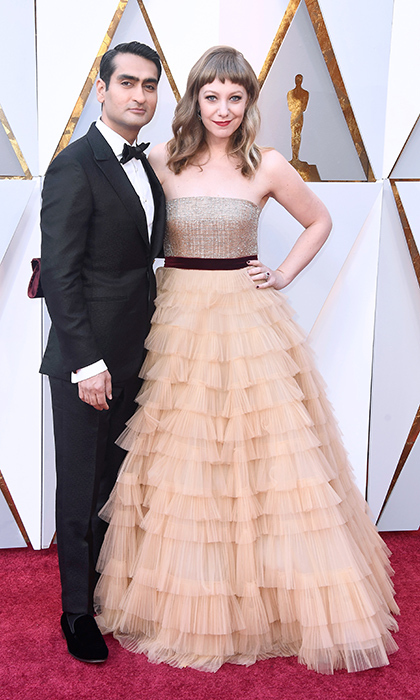 <p>Kumail Nanjiani &amp; Emily Gordon</p>