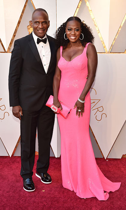<p>Viola Davis &amp; Julius Tennon</p>