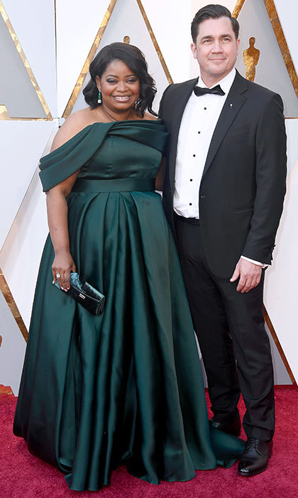 <p>Octavia Spencer &amp; Tate Taylor</p>