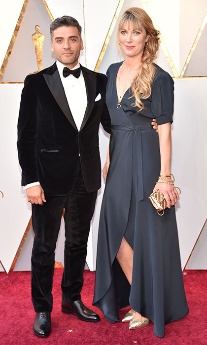<p>Oscar Isaac &amp; Elvira Lind</p>