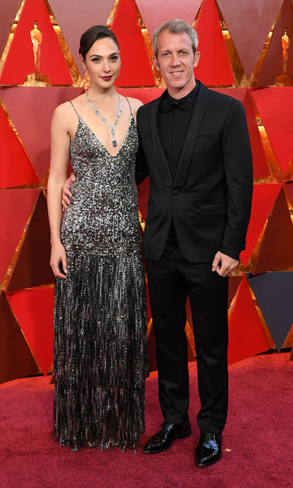 <p>Gal Gadot &amp; Yaron Varsano</p>