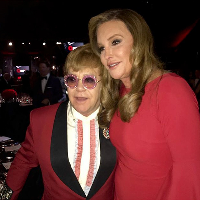 "<p>Caitlyn Jenner turned out to support Elton John at his annual Oscar night fundraiser for the Elton John AIDS Foundation. !Always a great time seeing my friend @eltonjohn while supporting the amazing work that @ejaf is doing,"" she wrote.</p>
