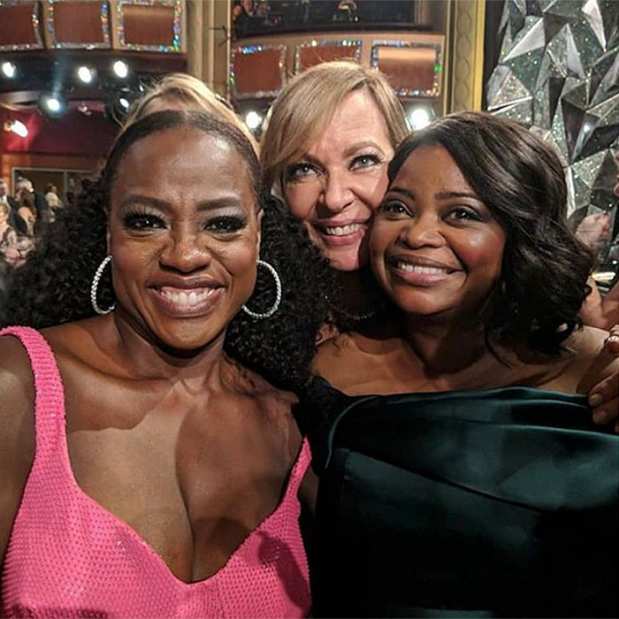 <p>Viola also co-starred in this snap with her <em>The Help</em> co-stars, Octavia Spencer and Allison Janney. With Allison's win at the 2018 Oscars, all three are Academy Award winners.</p>