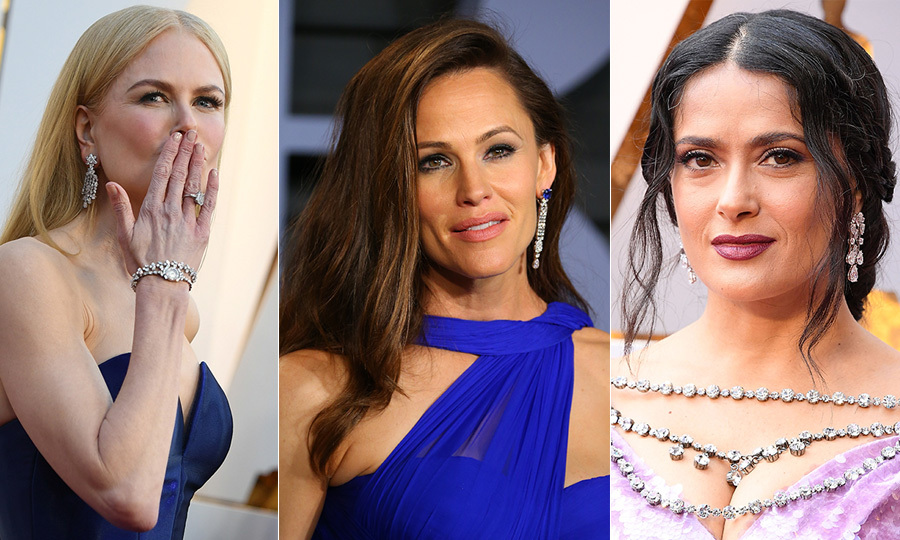 <p>Our favourite stars shined bright like diamonds on last night's Oscars red carpet! From Chopard and Tiffany & Co to Harry Winston, the likes of Gal Gadot and Helen Mirren made big statements with their pricey jewels. Click through our gallery of celebrities for some major diamond envy...</p>