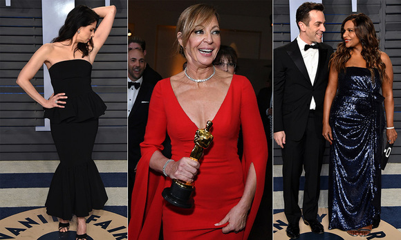 <p>The Academy Awards have come and gone, but the parties don't stop when the curtains close! Nominees, celebrities and public figures hit the town pre-show and  returned to party town for a series of A-list events where winners kicked up their heels and celebrated.</p>