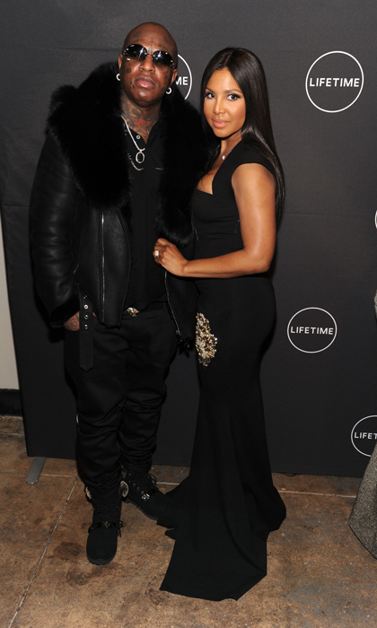 <h4>Toni Braxton and Birdman</h4>