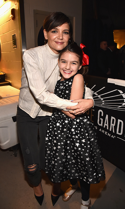 <h2>Katie Holmes and Suri Cruise</h2>