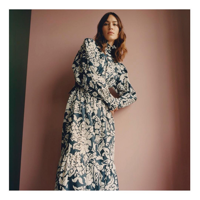 "Sharing a gorgeous photo of herself, Alexa Chung gave a shout out to women, ""Here's to all the female leaders ✊Happy International Women's Day!""