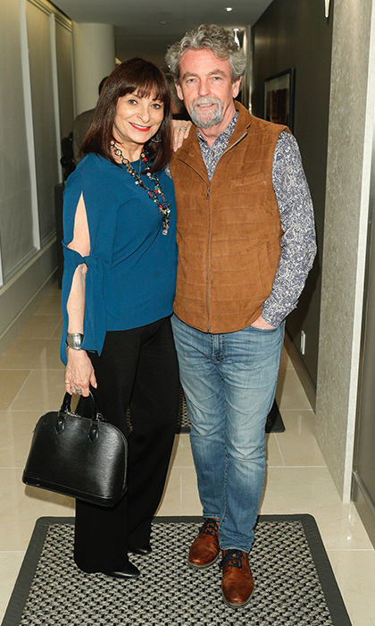 <p>Jeanne Beker &amp; Iain MacInnes</p>