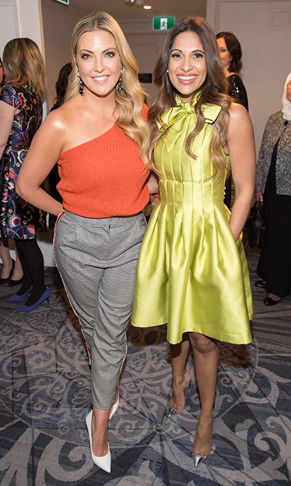 <p>Cheryl Hickey &amp; Sangita Patel</p>