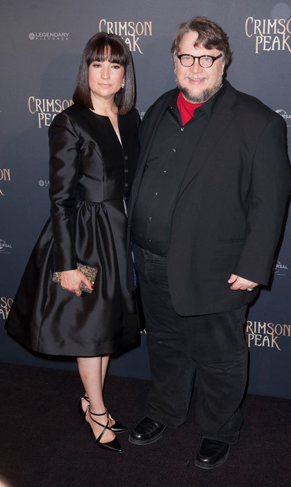 <h2>Guillermo del Toro and Lorenza Newton</h2>