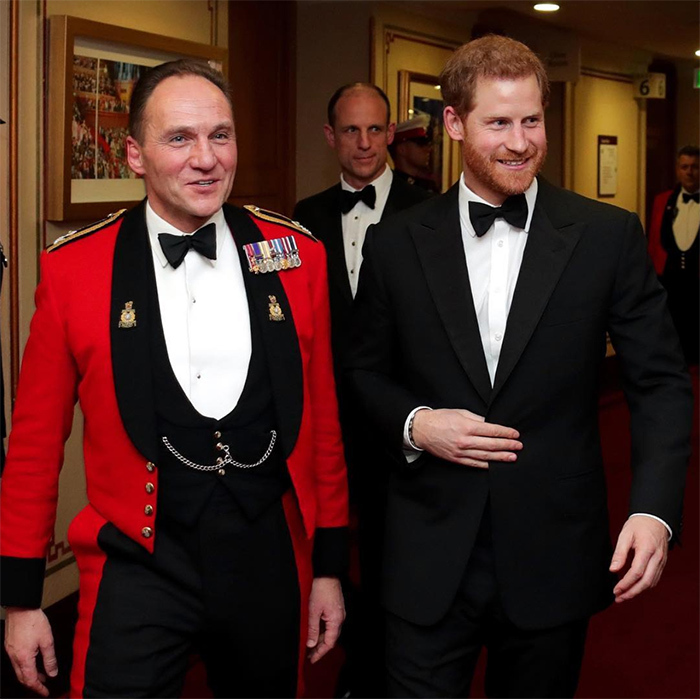Prince Harry did his best James Bond in a dapper black tuxedo as he attended the Mountbatten Festival of Music at Royal Albert Hall on Mar. 10. This was the royal's first official outing with his new title of Captain General Royal Marines, which he inherited from his grandfather Prince Philip. The annual event features military musicians from the Royal Marines showcasing a range of musical styles in a West End-worthy spectacular. 