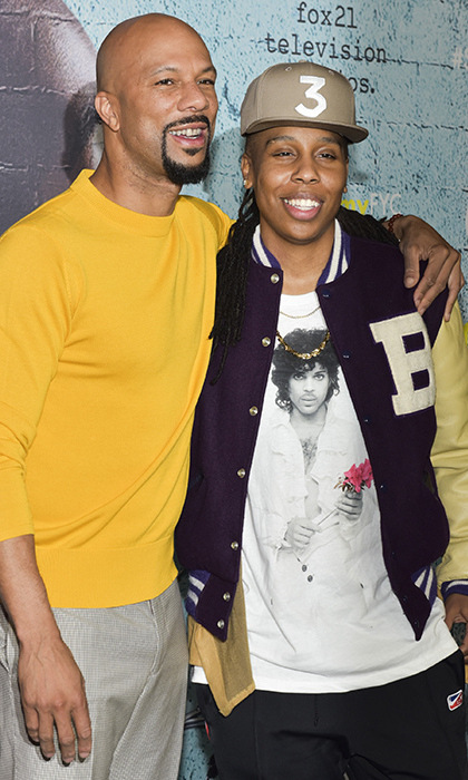 Executive Producer Common posed with Creator/Writer Lena Waithe as the two toasted their Showtime series <em>The Chi</em> at a For Your Consideration Event on Mar. 9 in Los Angeles. Critics and fans alike have given the powerful series about life in the South Side of Chicago two thumbs up.