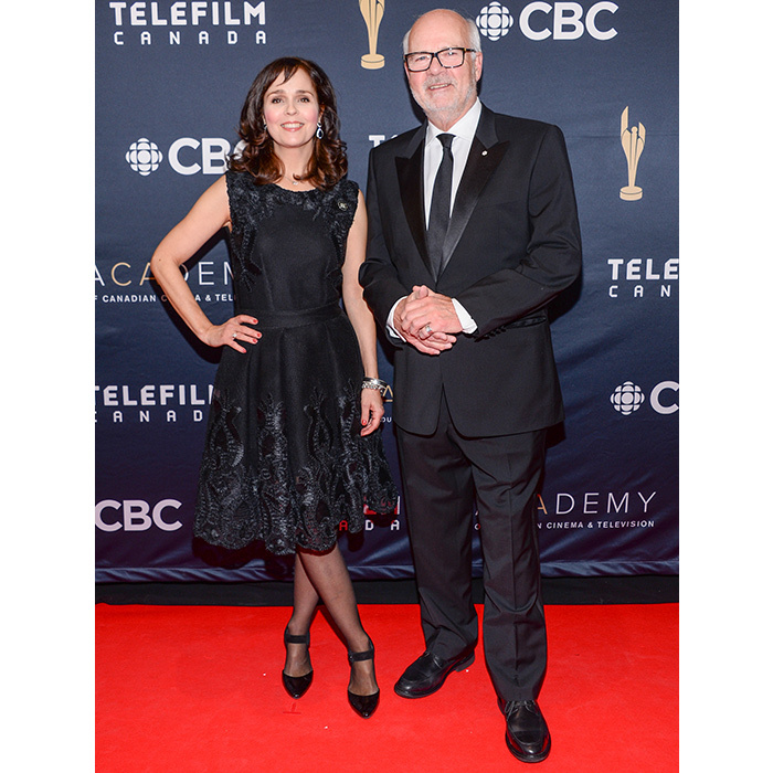 Cynthia Dale and Peter Mansbridge