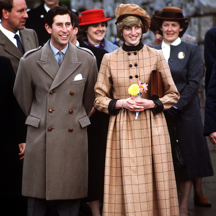 Princess Diana wore many of Stephen Jones's hats in the 1980s, including this brown beret.