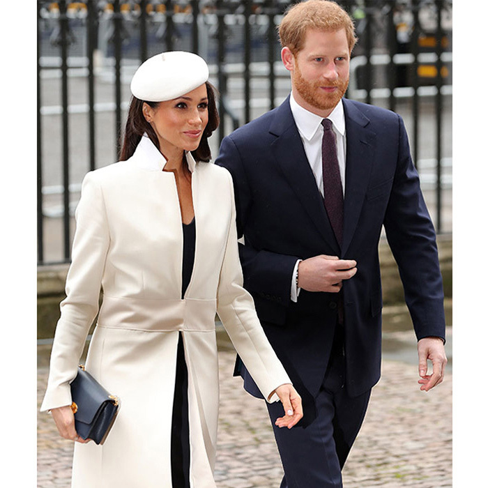 "<p><strong>The engagement:</strong> The pair announced their happy news on November 27 in a statement released from Clarence House which revealed that the couple became engaged in London in early November. ""Prince Harry has informed Her Majesty the Queen and other close members of his family. Prince Harry has also sought and received the blessing of Ms. Markle's parents,"" read the statement. Later that day the couple posed for the press and Meghan showed off her new engagement ring: a custom Cleave and Company trilogy ring featuring diamonds specially selected by the Prince; a central gem from Botswana, where the couple vacationed together, and the other two from his late mother Princess Diana's personal collection.</p>