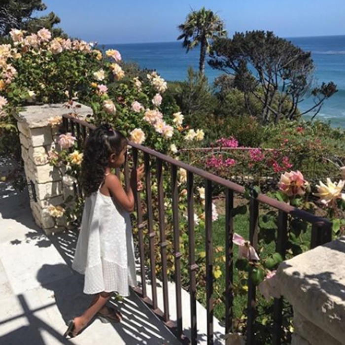 <p>Kim's daughter North is her mini-me.</p>