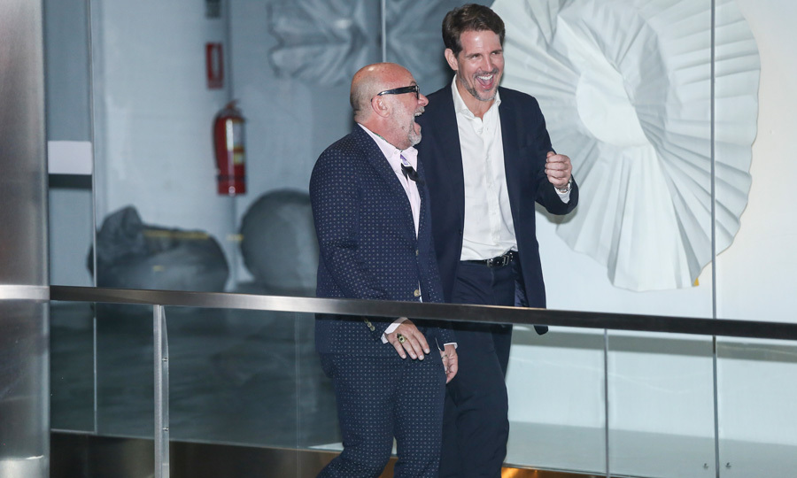 <p>Greece came to party! Crown Prince Pavlos was all smiles as he and a guest made their way inside of the restaurant for the pre-wedding celebration on March 15.</p>