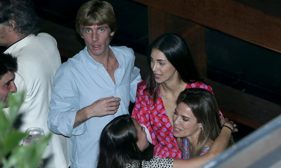 <p>Prince Christian of Hanover and Alessandra mingled with guests at the Osaka restaurant, located in the central Lima district of San Isidro, for their welcome dinner on March 15 ahead of their second wedding ceremony (March 16) in Peru.</p>